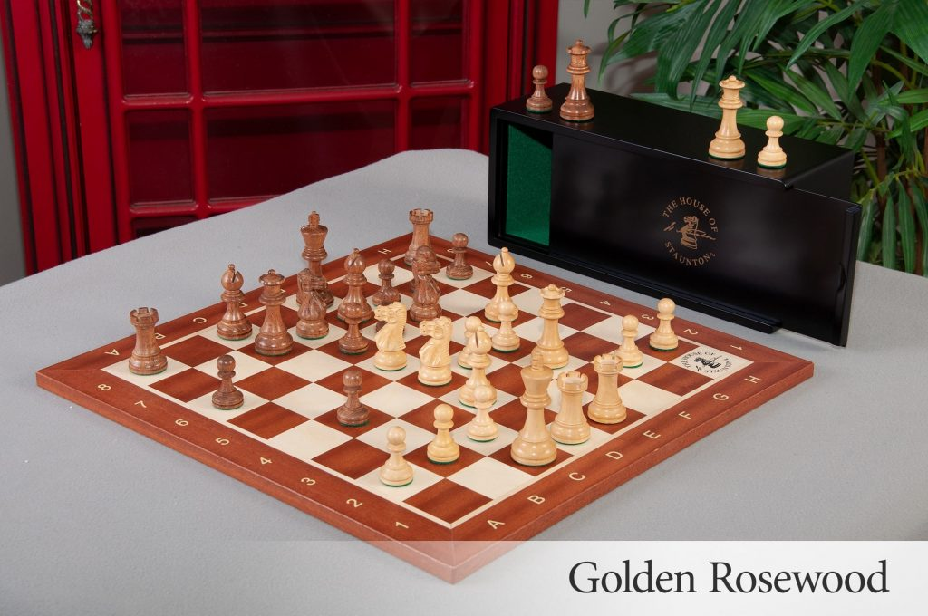 Library Chess Set Combo