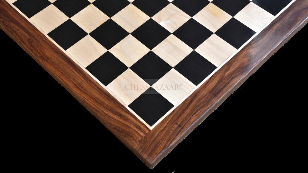 """23"""" Ebony Chessboard"""