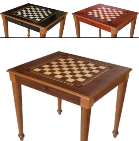 Chess USA table