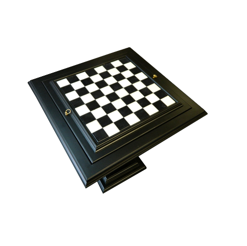 Black Chess Table