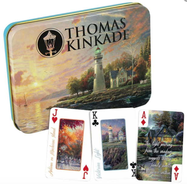 Thomas Kinkade Deluxe Playing Cards