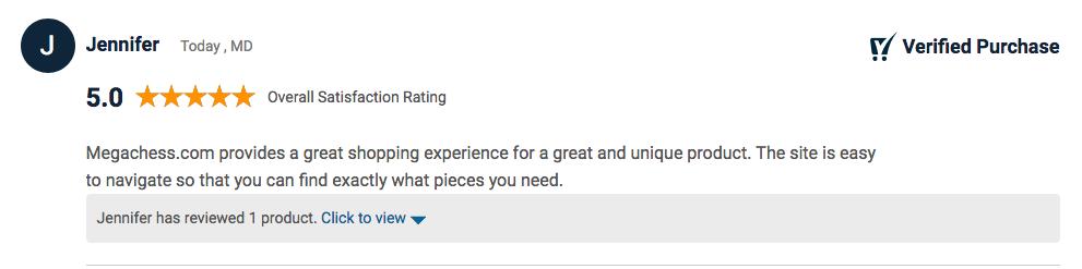 Mega Ches Customer Review