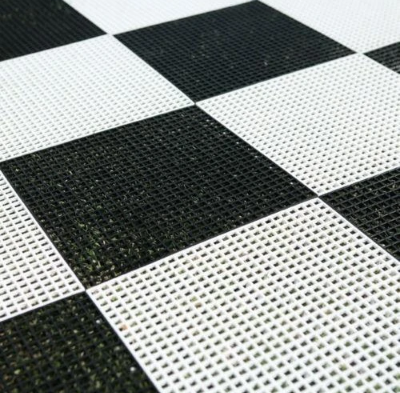 Hard Plastic Chess Board