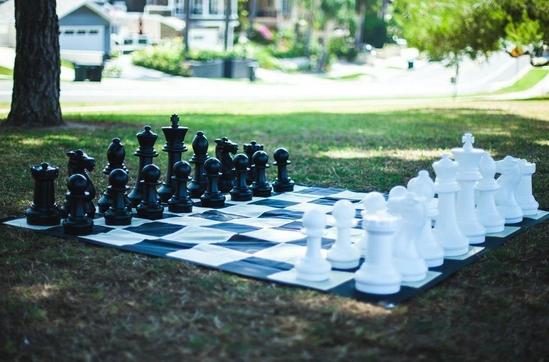 "16"" Plastic Giant Chess Set"