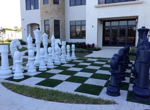 Fiberglass Giant Chess Set