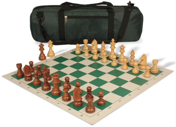 German Knight Tournament Chess Set