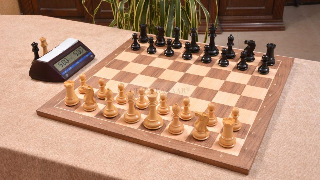 Modern Staunton Tournament Chess Set