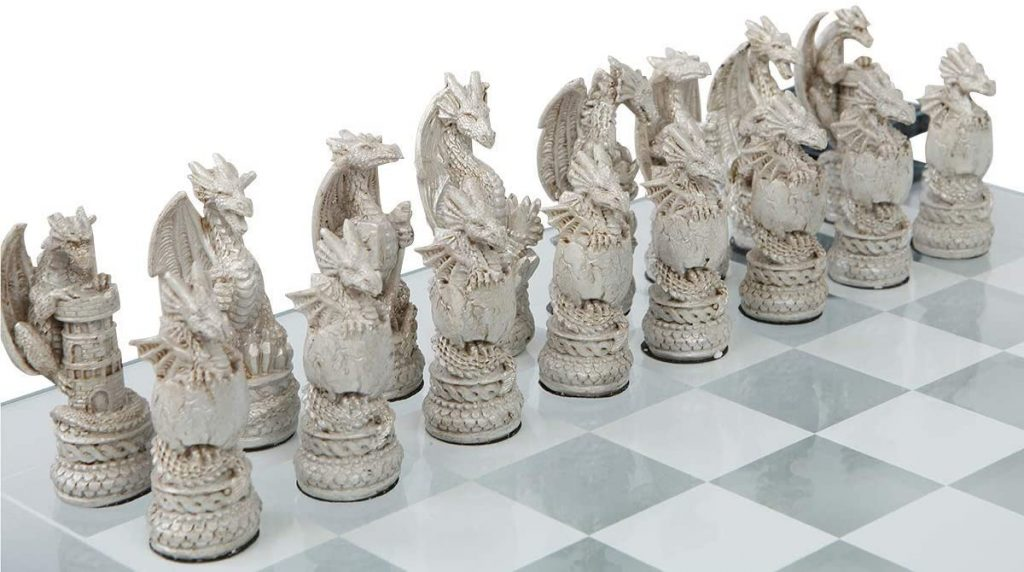 Dragon Chess Pieces