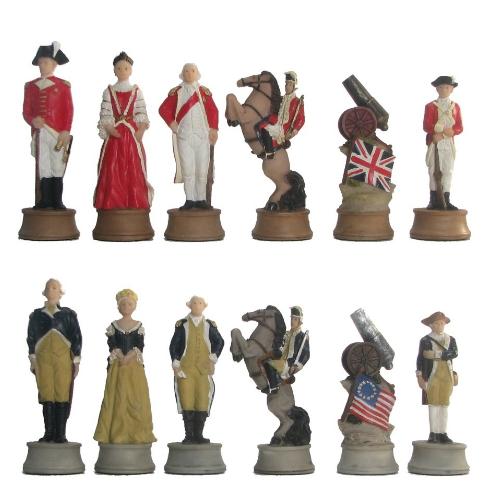 War Theme Chess Set