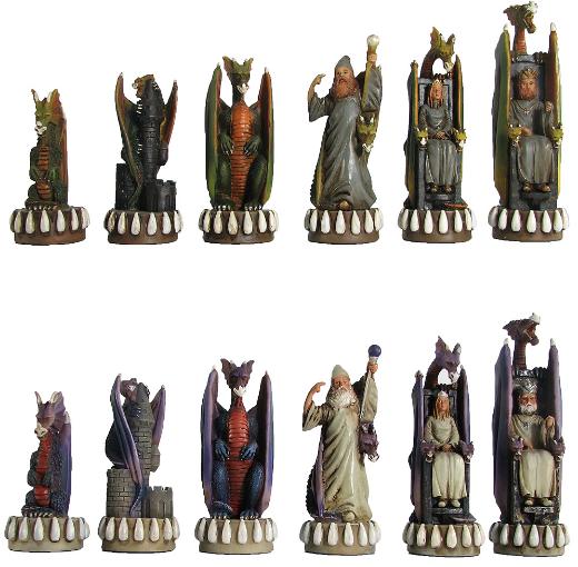 Theme Chess pieces