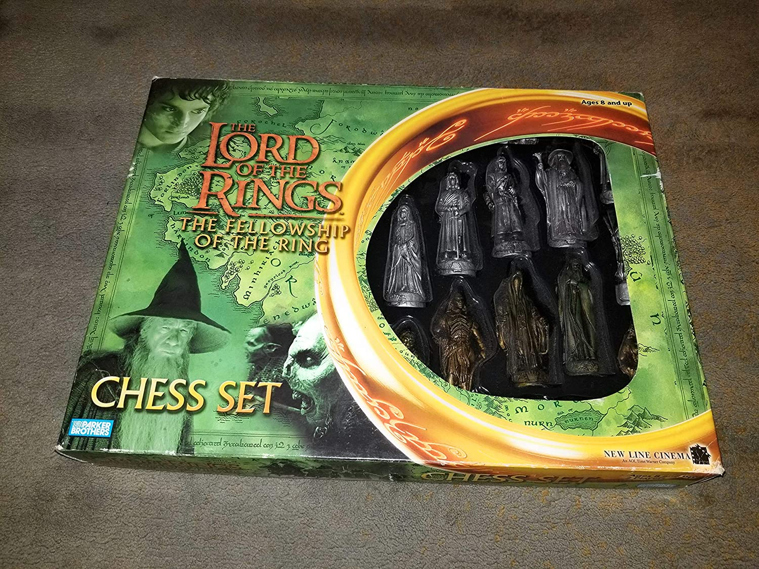 Lord of Rings Chessmen