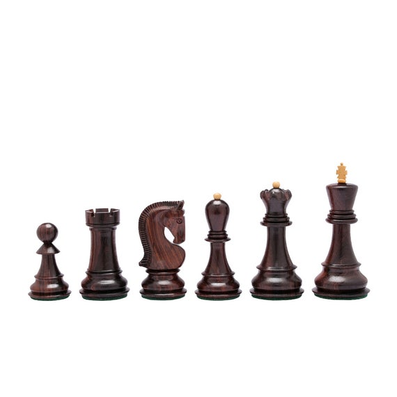 Russian Zagreb Staunton Chess Pieces
