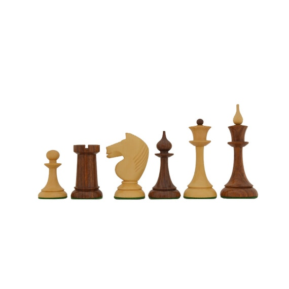 THE 1950S SOVIET (RUSSIAN) LATVIAN REPRODUCED CHESS PIECES