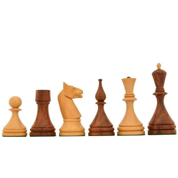 Reproduced 1961 Soviet Championship Baku Chess Pieces