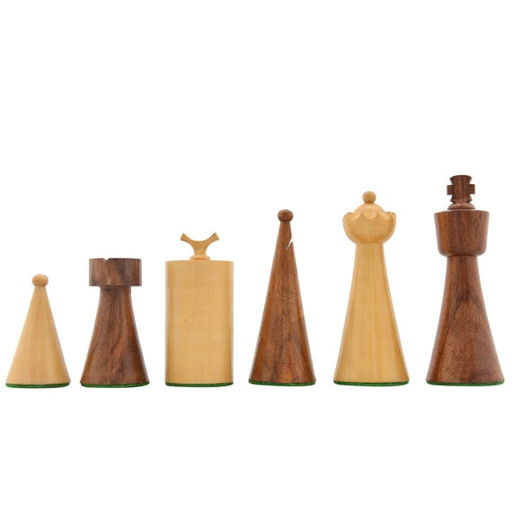 1940s Art Deco Series Weighted Chess Pieces