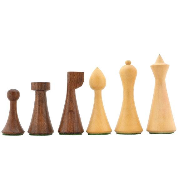 Minimalist Hermann Ohme Chess Pieces