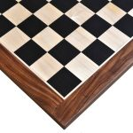 Ebony sheesham chess board