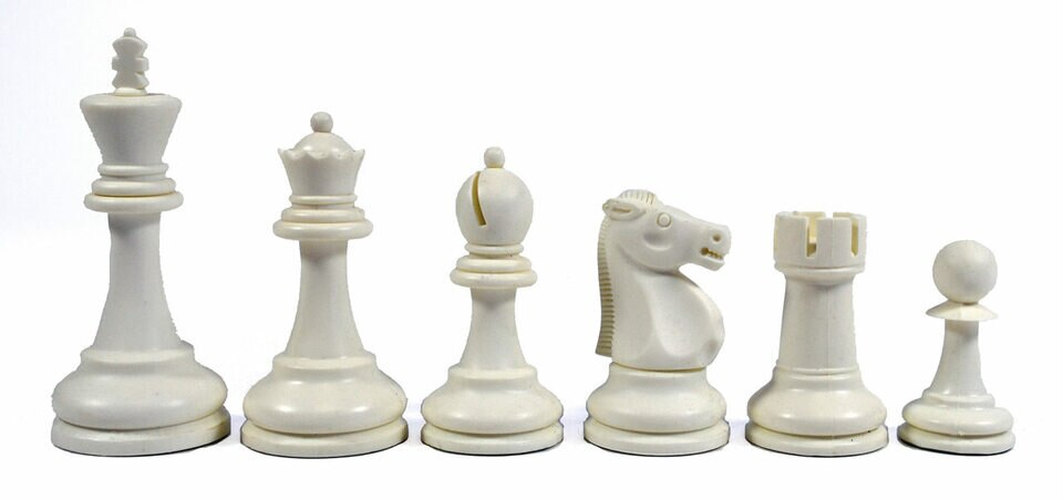 Reykjavik Plastic Chess Pieces