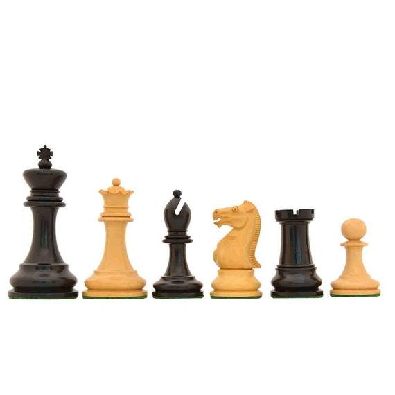 Reproduced 1880s-90s Circa Lasker Staunton Pattern Antique Chess Pieces