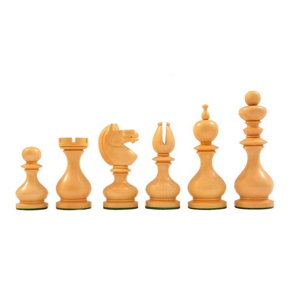 Reproduced Antique Series Dublin Pattern Calvert Chess Pieces