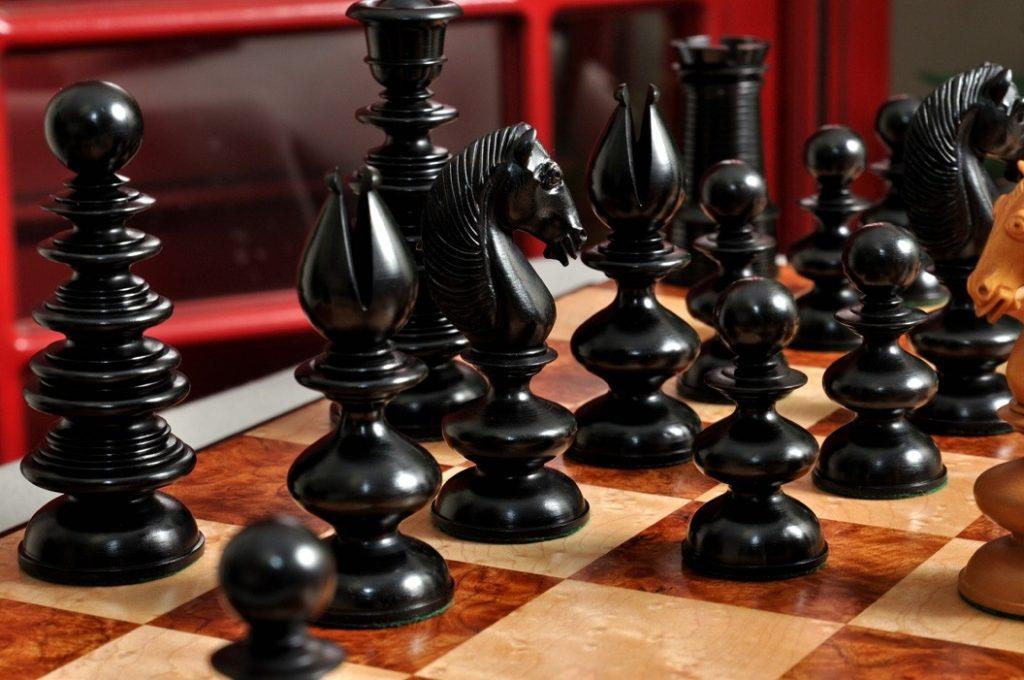 The Calvert Series Luxury Chess Pieces