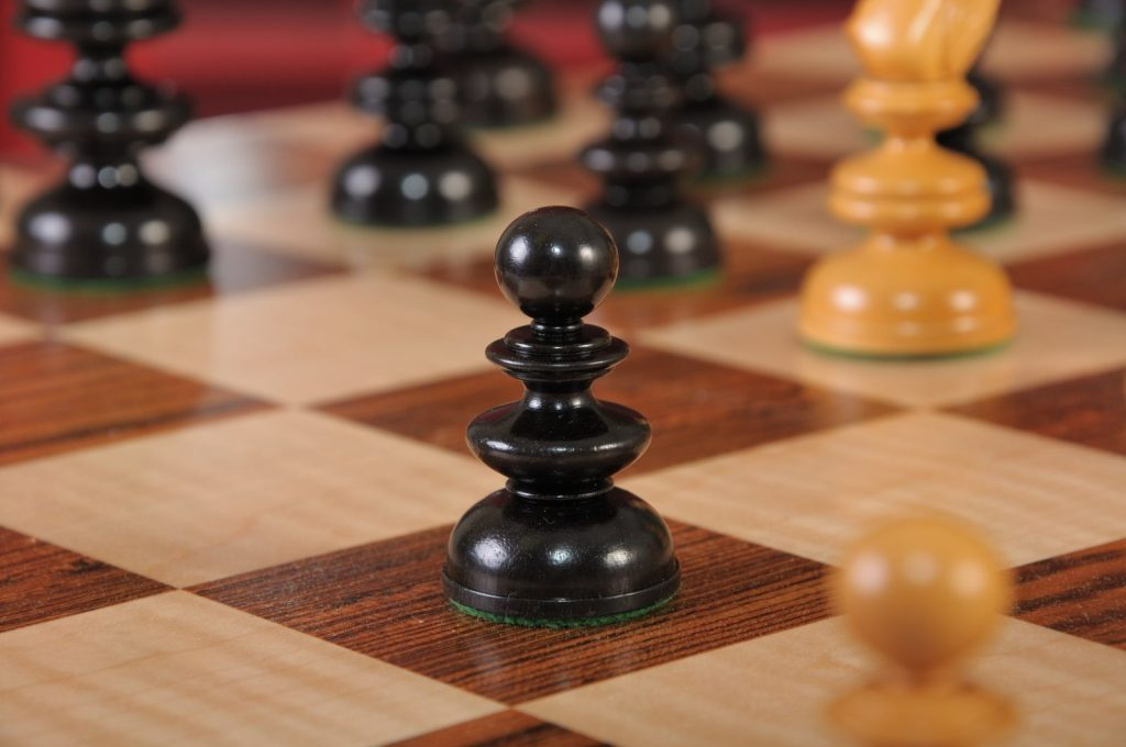 The 1820 Thomas Lund English Chess Pieces
