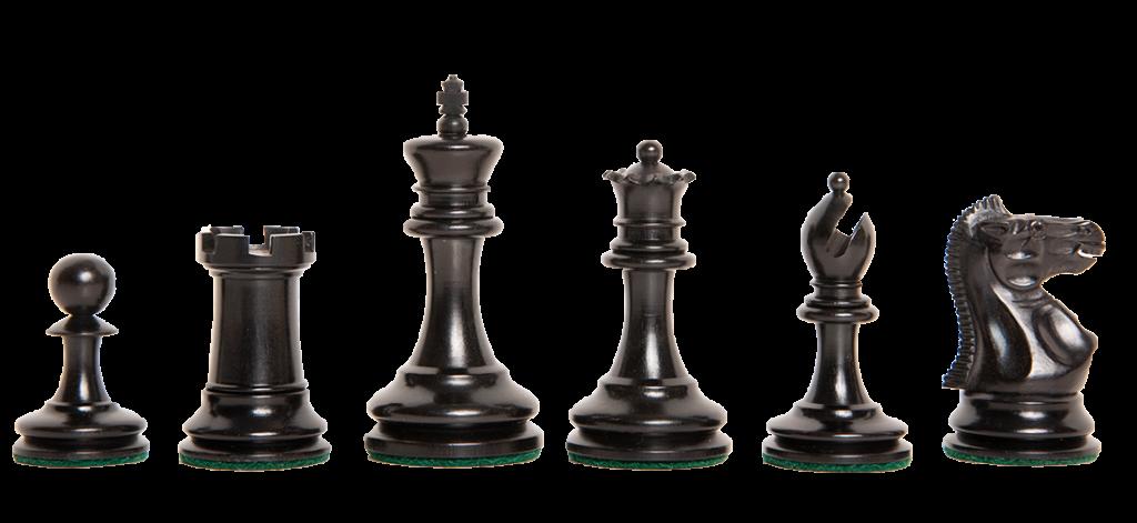 The Zukertort Series Luxury Chess Pieces