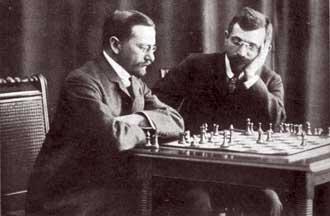 Lasker vs. Tarrasch, World Championship Match 1908