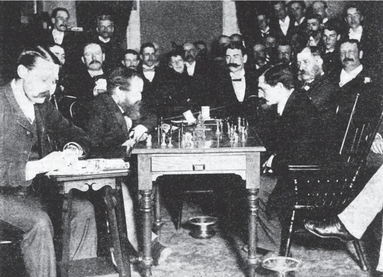 Lasker vs. Steinitz, World Championship Match 1894.